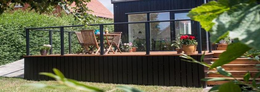 terrasse afskaermning